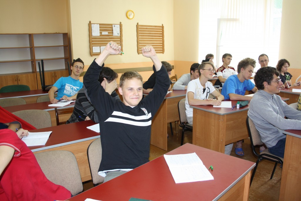 Фото из Летней математической школы ЛНМО